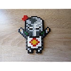Sprite Dark souls - Solaire • Hama Beads • Pixel Art • Perler beads