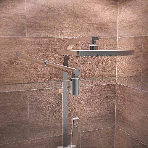 """Duschabtrennung """"Boston"""" für eine Walk-In Dusche - 5"""