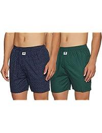 Amazon Brand - Symbol Men's Boxers (Pack of 2)
