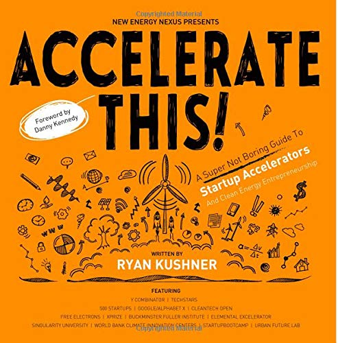 Accelerate This!: A Super Not Boring Guide To Startup Accelerators And Clean Energy Entrepreneurship - Black & White Version