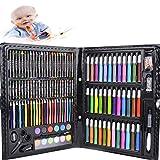 Malkasten für Kinder, Legendog 150 Pcs Buntstifte Set | Malset Kinder | Kinderspielzeug | Geschenk für Kinder | Farben Set für Kinder