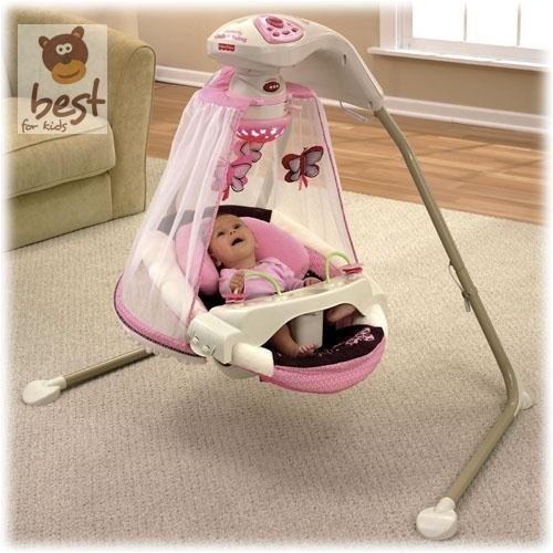 Fisher – Price modelo T4522 hamaca bebe electrica mariposa - 3
