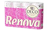 #10: Renova Deco Toilet Paper 12 Rolls White (4 Ply) , Lotion and Perfumed , Tested Under Dermatological And Gynaecological Control, First time In INDIA