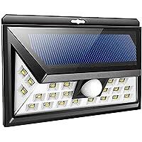 66 LED Luces Solares Al Aire Libre Sensor De Movimiento Impermeable Fácil De Instalar Luces De
