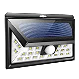 66 LED Solar Lights Outdoor Motion Sensor Wasserdicht Easy-to-Install Security Lights for Front Door Yard Garage Deck Porch,24LED