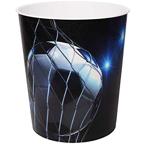 Papierkorb / Behälter -  Fußball / Sport - Ball  - 10 Liter - aus Kunststoff - Mülleimer / Eimer - Aufbewahrungsbox für Kinder / Büro - Jungen - Abfalleimer.. ()