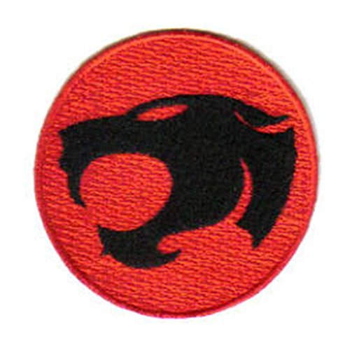 THUNDERCATS TV Series Red Cat Logo Embroidered PATCH by Main Street 24/7