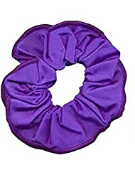 Chouchou pour cheveux en nylon/lycra brillant Violet