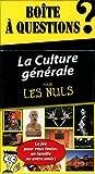 Boîte à questions La Culture générale pour les..