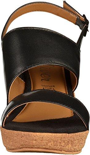 s.Oliver 5-28300-20 Femmes Sandale Noir