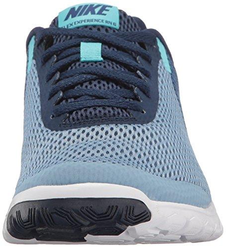 Nike Flex Experience Run 6, Scarpe Running Donna Blu (Work Blue/polarized Blue-binary Blue-whi)