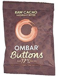 Ombar Dark 72% Raw Chocolate Buttons, 25 g