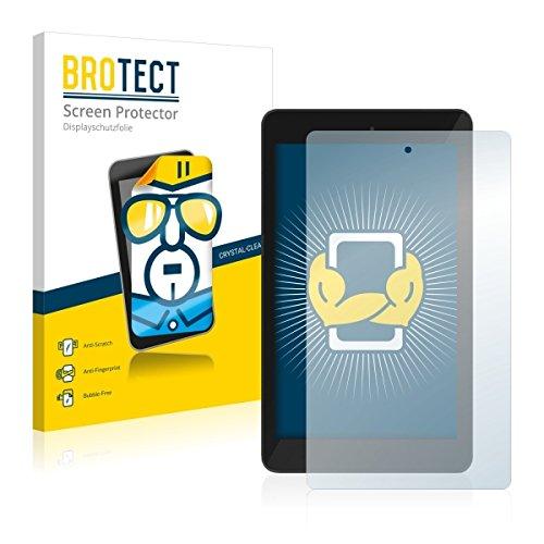 2X BROTECT HD Clear Bildschirmschutz Schutzfolie für TrekStor SurfTab xintron i 7.0 (kristallklar, extrem Kratzfest, schmutzabweisend)