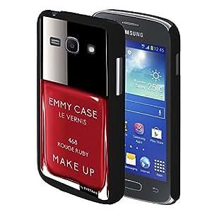 Coque rigide Vernis rouge Ruby pour Samsung Galaxy ACE 4