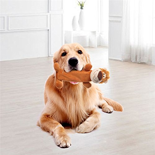 Plüsch Spielzeug Öko-Flasche Hund Kauen Spielzeug (Plüsch Sirene)