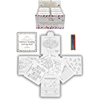 4 Wedding Childrens Activity Pack / Crayons Drawing Colouring Book Travel Games