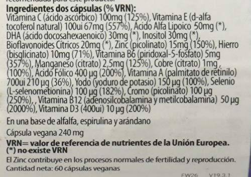 Viridian Fertility Para Mujeres, 60 Cápsulas, Pack de 1