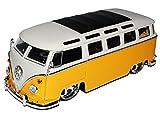 Jada VW Volkswagen T1 Bus Gelb Metallic mit Weiss Samba Bully Bus 1950-1967 1/24 Modell Auto