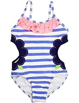[Sponsorizzato]Changhants Ragazze Swimwear del bambino luce camicia azzurra a righe con i bambini costume da bagno bagno delle...