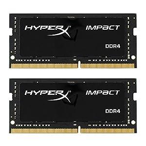 HyperX Impact DDR4 HX424S14IB2K2/16 Memory 2400 MHz CL14 SODIMM 16 GB Kit (2x8 GB)