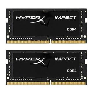 HyperX HX426S15IB2K2/32 Impact Memoria RAM, 2666 MHz, DDR4, CL15 SODIMM, 32 GB, Confezione da 2, Nero (B01NAL3TYY) | Amazon price tracker / tracking, Amazon price history charts, Amazon price watches, Amazon price drop alerts