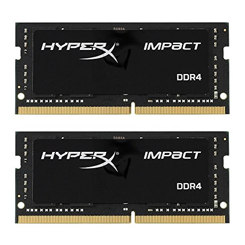 HyperX HX426S15IB2K2/16 Impact DDR4 16GB (Kit 2x8GB), 2666 MHz CL15 SODIMM XMP -