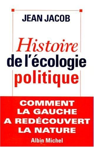 Histoire de l'écologie politique