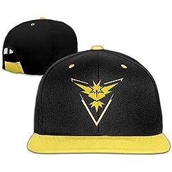 Cappello Cappellino regolabile Pokemon Go Team Istinto Instinct Giallo Zapdos unisex