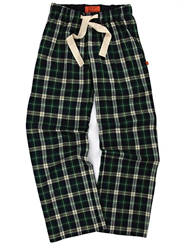 Mini Vanilla Green Check Lounge Pants