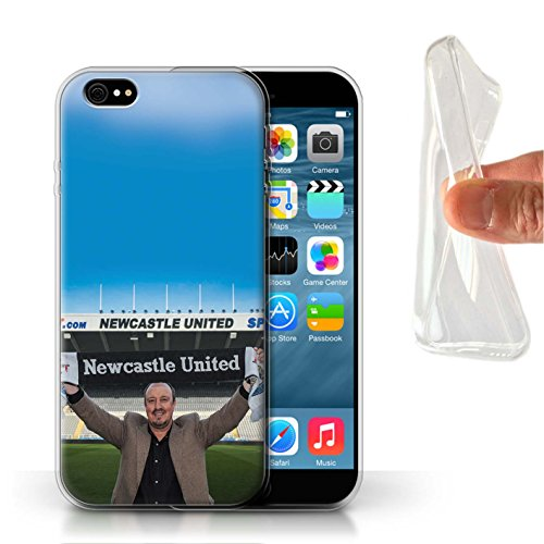 Offiziell Newcastle United FC Hülle / Gel TPU Case für Apple iPhone 6 / Pack 8pcs Muster / NUFC Rafa Benítez Kollektion Willkommen