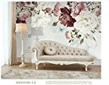 Yosot Nordic Handbemalte Retro Pastorale Blume 3D Tapete Für Wall Paper Vintage Dekorative Malerei Home Improvement-450cmx300cm