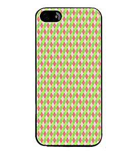 HiFi High Glossy Designer Phone Back Case Cover Apple iPhone 5S ( Colorful Pattern Design Light Color )