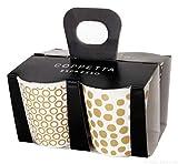 ASA 44400425 Espressobecher Set, Weiß, 100 Ml