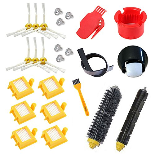 astor Rueda HEPA Fiters Kit para iRobot Roomba 700...