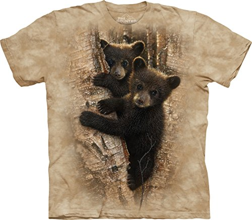 Cub Mountain T-shirt (The Mountain - - Jugend Curious Cubs T-Shirt, Large, Multi)