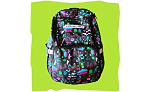 Unisex prints for parents to carry Superbottoms Superbackpack for Parents On The Go - Rimzim Print (Black)
