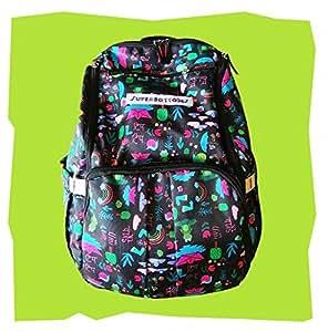 Unisex prints for parents to carry Superbottoms Superbackpack for Parents On The Go - Rimzim Print (Black)
