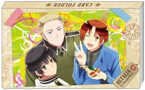 Hetalia The Beautiful World business card folder (japan import) | Boutique En Ligne