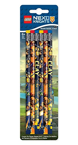 LEGO 51546Pencils Nexo Knights (Pack of 6)