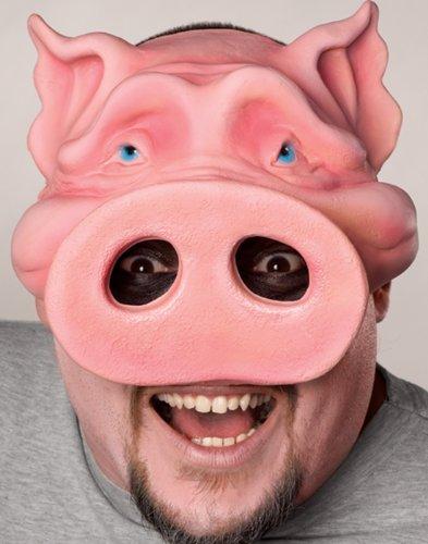 Rubies Pig Boy Chinless Mask O/S