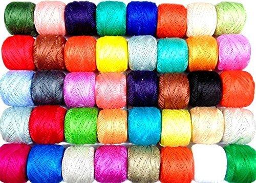 nuevo-50-x-anchor-pearl-algodon-crochet-hilo-bolas-j-p-tamano-8-85-metros-cada-uno