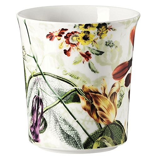 Rosenthal 61040-321349-24866Belles Fleurs Olive-Lampada da tavolo con candela (Fleur Candela)