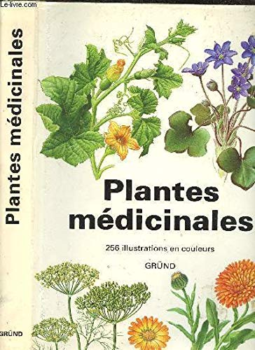 Plantes medicinales - 256 illustrations en couleurs par Jan Volak