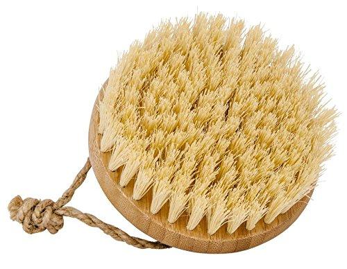Croll & Denecke Brosse de massage en bambou avec poils de coco, 1 pièce