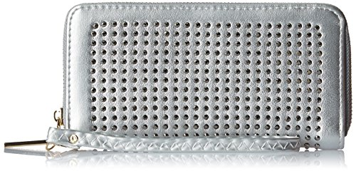 Lino Perros Women's Wallet (SIlver)  available at amazon for Rs.397
