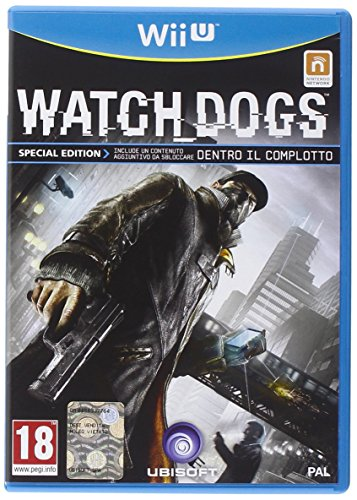 WII U WATCH DOGS SPECIAL EDITION (Limited Edition Dogs Watch)