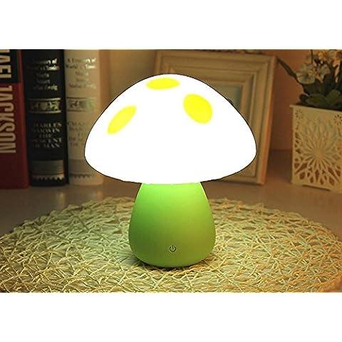Lampada fungo lampada da comodino tocco carica di colore dell'occhio