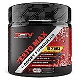 Testo MAX - 270 Kapseln - Hochdosiert mit 6780 mg pro Tag- Extreme T-Boost Formel mit Aminosäuren + Tribulus + Maca Extrakt + Boron - Testosteron Booster - Beliebt bei Bodybuildern & aktiven Männer