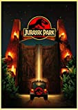 PWERWOTAM ET/Jaws/La Termina/Jurassic Park Spielberg Classique Affiches De Film Rétro Mur Affiches Art Imprimé Peinture Vintage Affiche 42 * 30Cm