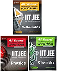 IIT JEE 41 Years' Chapterwise Topicwise Solved Papers (2019-1979) Set Of 3 Books ( Physics + Chemistry + M